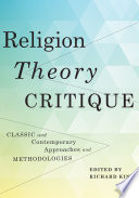 Religion  Theory  Critique