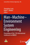 Man   Machine   Environment System Engineering