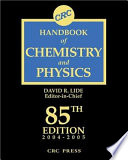 CRC Handbook of Chemistry and Physics  85th Edition