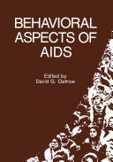 download ebook behavioral aspects of aids pdf epub