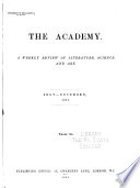 The Academy and Literature Book PDF
