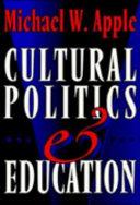 Cultural politics and education