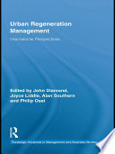 Urban Regeneration Management book