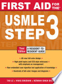 First Aid for the USMLE Step 3  Third Edition