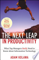 The Next Leap in Productivity