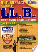 Universal s Guide to LL B  Entrance Examination