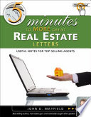 Five Minutes to More Great Real Estate Letters In One Successful Real Estate