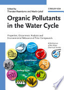 Organic Pollutants In The Water Cycle book
