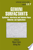 Gemini Surfactants