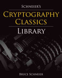 Schneier s Cryptography Classics Library