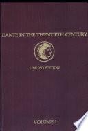 Dante in the Twentieth Century
