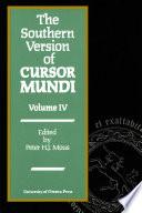 The Southern Version of Cursor Mundi Vol  IV