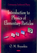 Introduction to Physics of Elementary Particles