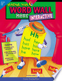 Making Your Word Wall More Interactive, eBook