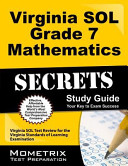 Virginia SOL Grade 7 Mathematics Secrets Study Guide