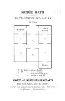 Catalogue du musée Rath à Genève