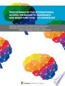 Proceedings Of The International School On Magnetic Resonance And Brain Function Xiii Workshop