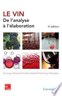 Le vin   de l analyse    l   laboration  6e   d