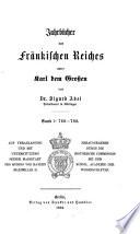 Jahrbücher des Fränkischen Reiches unter Karl dem Grossen