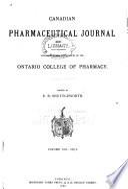 Canadian Pharmaceutical Journal