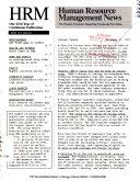 Human Resource Management News