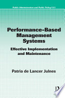 Performance Based Management Systems