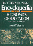 International Encyclopedia Of Economics Of Education : of education, 2nd edition (described...