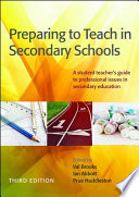 Preparing to Teach in Secondary Schools