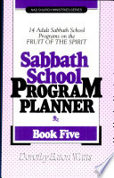 Sabbath School Program Planner