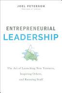 Entrepreneurial Leadership Book