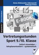 Vertretungsstunden Sport 9  10  Klasse