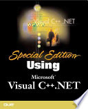 Special Edition Using Visual C Net
