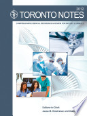 The Toronto Notes 2012