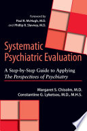 Systematic Psychiatric Evaluation