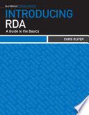 Introducing RDA