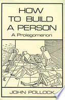How To Build A Person book