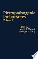 Phytopathogenic Prokaryotes