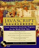 Javascript Sourcebook book