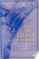 Into the Light of Things Book PDF