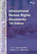 Blackstone s International Human Rights Documents