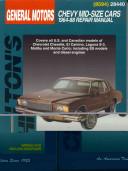 Chilton S General Motors Chevy Mid Size Cars 1964 88 Repair Manual