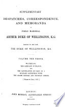Waterloo, the Campiagn in France, and the Capitulation of Paris ...