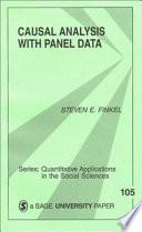 Causal Analysis with Panel Data