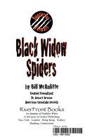 Black Widow Spiders Book PDF