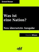 Was ist eine Nation?