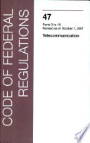 Ebook Federal Communications Commission (Parts 0 - 19) Epub N.A Apps Read Mobile