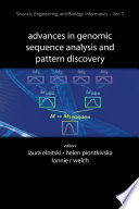 Advances in Genomic Sequence Analysis and Pattern Discovery