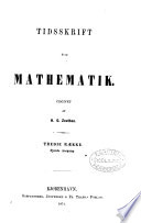 tidsskrift for mathematik