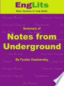 Englits Notes From Underground Pdf