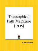 Theosophical Path Magazine  January to December 1935 Book PDF